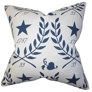 The Pillow Collection Berit Cotton Throw Pillow; 18'' x 18''
