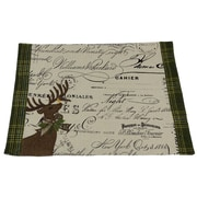 Xia Home Fashions Reindeer w/ Applique Suede Placemat