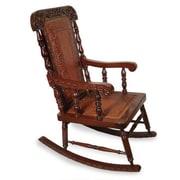 Novica Nobility Rocking Chair