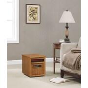 Duraflame 1,500 Watt Portable Electric Infrared Cabinet Heater; Oak