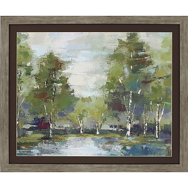Propac Images Forest at Dawn Crop Framed Painting Print