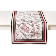 Mierco Wine Labels Luxe Table Runner