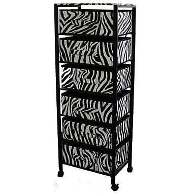 ORE Furniture 6-Drawer Storage Chest