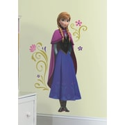 Room Mates Popular Characters Frozen's Anna w/ Cape Giant Wall Decal