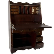 Oriental Furniture Korean Secretary Desk by