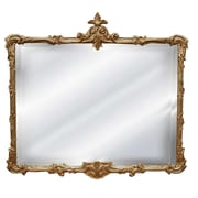 Hickory Manor House Buffet Mirror; Antique Gold