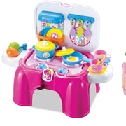 Berry Toys My First Portable Play and Carry Kitchen/Bench Play Set