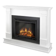 Real Flame Silverton Electric Fireplace; White