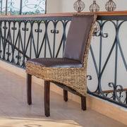 International Caravan Bali Dining Side Chair w/ Cushion