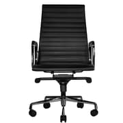 Wobi Office Reed High-Back Leather Executive Chair