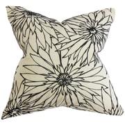 The Pillow Collection Phedora Floral Throw Pillow; 18'' x 18''