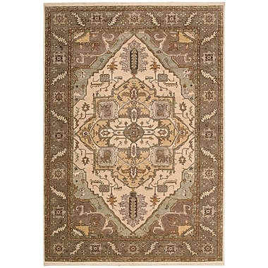 Darby Home Co Degory Beige Area Rug; 7'9'' x 9'9''