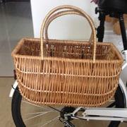 Quickway Imports Wicker Shopping Bike Basket