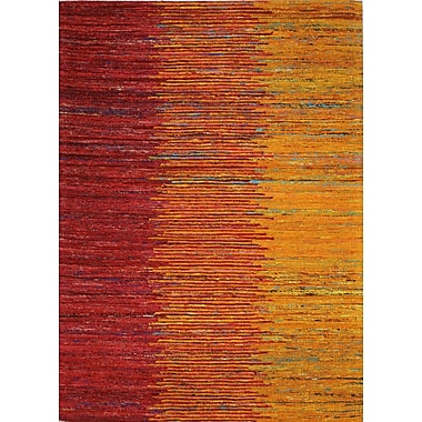 Bashian Rugs Bohemian Hand Woven Sunset Area Rug; Rectangle 5'9'' x 8'9''