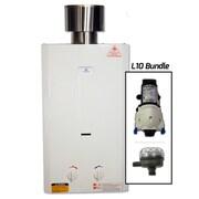 Eccotemp Eccotemp 2.6 GPM Portable Liquid Propane Tankless Water Heater w/ Flojet Pump and Strainer