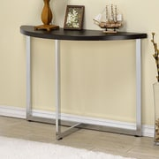 Fox Hill Trading Millenial Console Table; Chrome