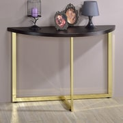 Fox Hill Trading Millenial Console Table; Gold