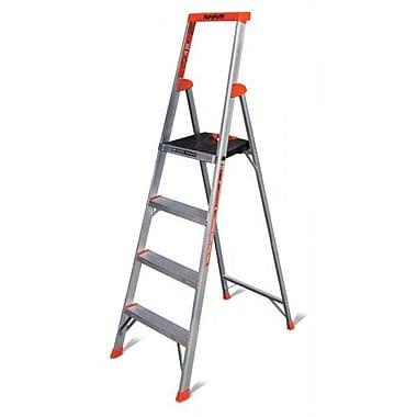 Little Giant Ladder 6.23 ft Aluminum Flip-N-Lite Type 1A Step Ladder w  sc 1 st  Staples & Little Giant Ladder 6.23 ft Aluminum Flip-N-Lite Type 1A Step ... islam-shia.org