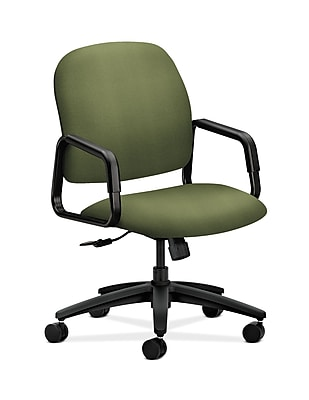 HON Solutions Seating Plastic Executive Office Chair, Fixed Arms, Clover (HON4001NR74T)