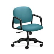 HON Solutions Seating Fabric Computer and Desk Office Chair, Fixed Arms, Blue (HON4002CU96T)