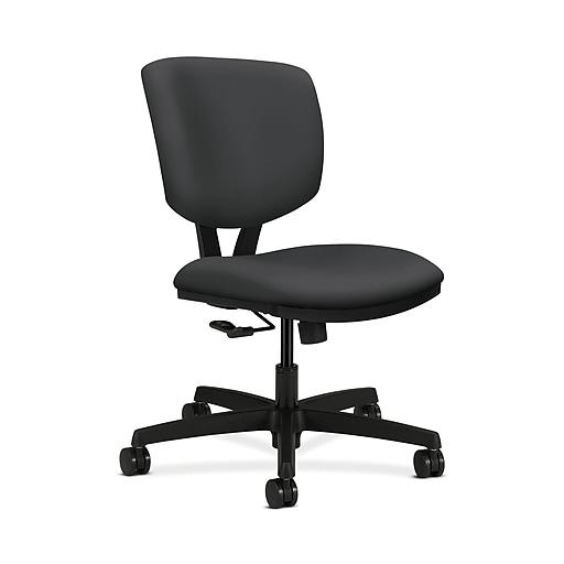 HON HON5721HSX23T Volt Office/Computer Chair, Armless, Carbon Fabric