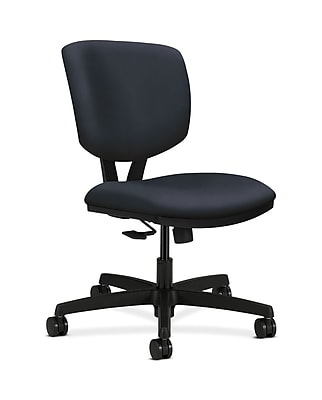 HON Volt Fabric Computer and Desk Office Chair, Armless, Navy (HON5723HWP37T)