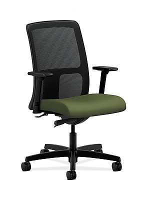 HON HONIT102NR74 Ignition Mesh Low-Back Office/Computer Chair, Adjustable Arms, Clover Fabric