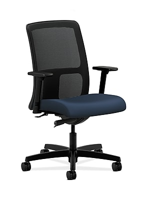HON Ignition Fabric Computer and Desk Office Chair, Adjustable Arms, Ocean (HONIT102UR96)