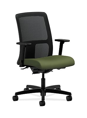 HON Ignition Fabric Computer and Desk Office Chair, Adjustable Arms, Clover (HONIT201NR74)