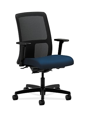 HON Ignition Fabric Computer and Desk Office Chair, Adjustable Arms, Mariner (HONIT201NT90)