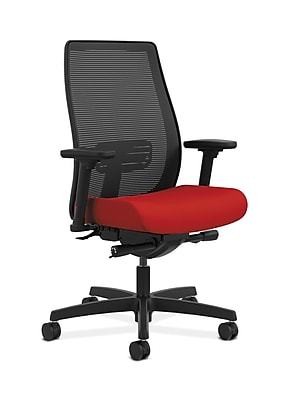 HON Endorse Fabric Computer and Desk Office Chair, Adjustable Arms, Tomato (HONLWIM2ACU66)
