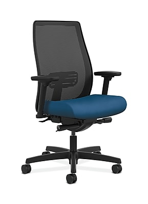 HON Endorse Fabric Computer and Desk Office Chair, Adjustable Arms, Regatta (HONLWIM2ANR90)