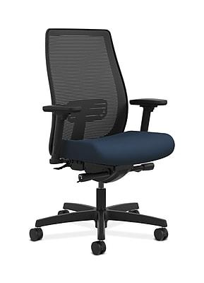 HON Endorse Fabric Computer and Desk Office Chair, Adjustable Arms, Ocean (HONLWIM2AUR96)