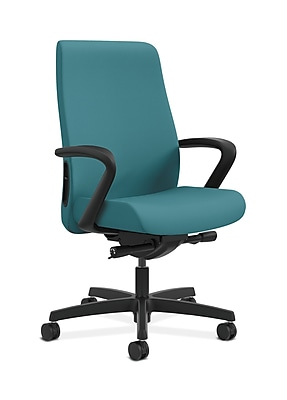 HON Endorse Fabric Computer and Desk Office Chair, Fixed Arms, Glacier (HONLWU2FCU96)