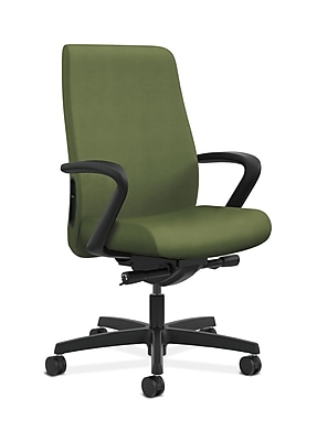 HON Endorse Fabric Computer and Desk Office Chair, Fixed Arms, Clover (HONLWU2FNR74)