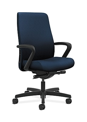 HON Endorse Fabric Computer and Desk Office Chair, Fixed Arms, Mariner (HONLWU2FNT90)