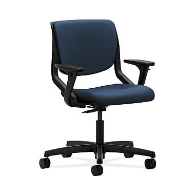 HON Motivate Plastic Computer and Desk Office Chair, Adjustable Arms, Ocean (HONMT102UR96)