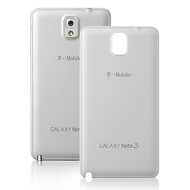 Samsung Refurbished OEM Battery Door, Back Case, N9000TDR For Samsung Galaxy Note 3, White (1901166)