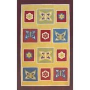 American Home Rug Co. Kiddie Butterfly Area Rug; 5' x 8'