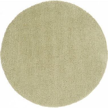 Continental Rug Company Cloud Lime Area Rug; Round 5'