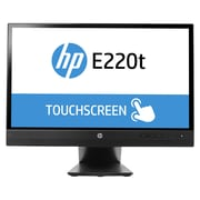 "HP® EliteDisplay E220t 21.5"" LED LCD Touch Monitor, Black"