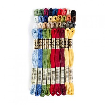 DMC Six Strand Embroidery Cotton, Light Drab Brown