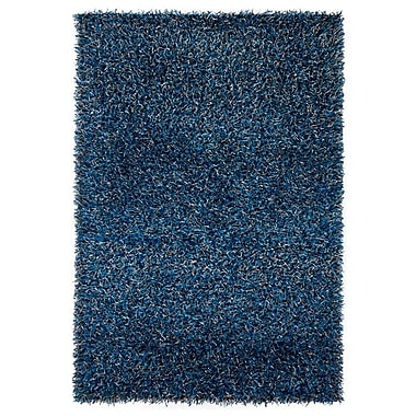 Chandra Zara Blue Area Rug; Rectangle 5' x 7'6''