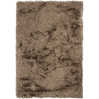 Chandra Vani Black Solid Area Rug; 7'9'' x 10'6''