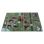 Kids World Durable Play Our Town Area Rug; 4' x 6'