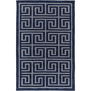 Artistic Weavers Holden Kennedy Navy/Gray Area Rug; 5' x 7'6''