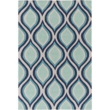 Artistic Weavers Holden Lucy Teal Area Rug; 5' x 7'6''