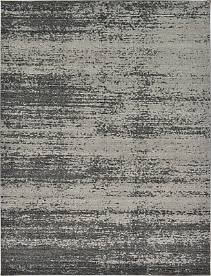 Unique Loom Del Mar Gray Area Rug; 9' x 12'