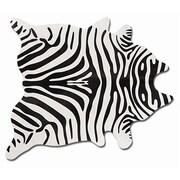 Natural Rugs Togo Black/Off-White Zebra Rug