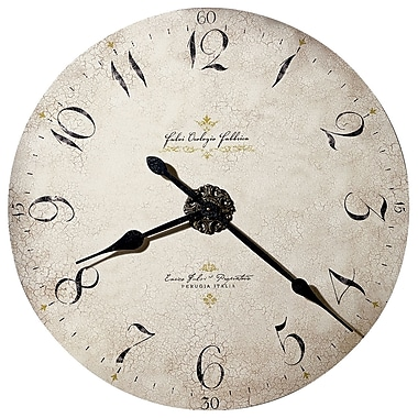 Howard Miller Moment In Time Oversized 32'' Enrico Fulvi Gallery Wall Clock